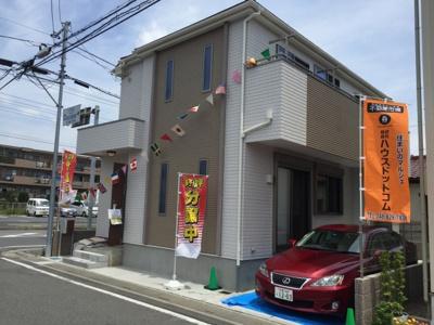 【外観】戸田市新曽 新築分譲住宅全1棟