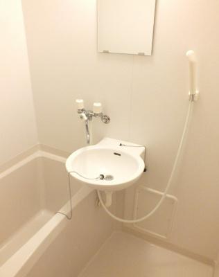 【浴室】レオパレス一加