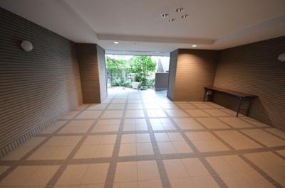 【エントランス】サンマンションアトレ東雪谷