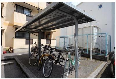 14その他共有部分 屋根付き駐輪場があります!