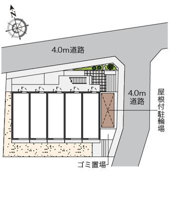 【区画図】プリマベーラ中台2