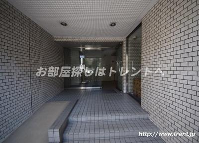 【エントランス】ディアハイム飯田橋