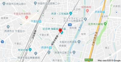 【地図】ステップ香露園