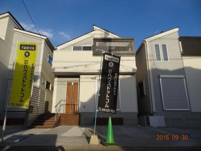【外観】さいたま市緑区三室 デザイン新築分譲住宅全3棟 残1棟