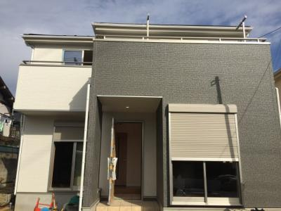 【外観】さいたま市緑区中尾 新築分譲住宅全3棟・残1棟