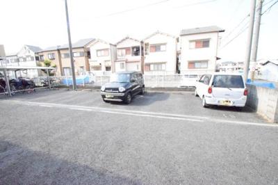 【駐車場】サニーハイムA・B棟