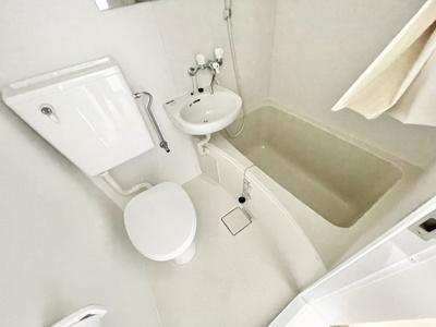 【浴室】コーポ松井