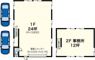 新吉田町4543F貸工場・貸倉庫