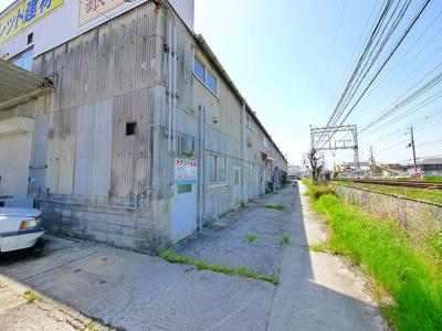 【外観】外山市場跡(倉庫)