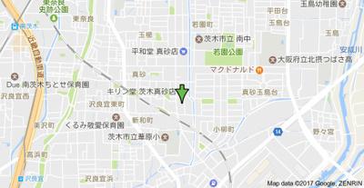 【地図】立川ハイツ