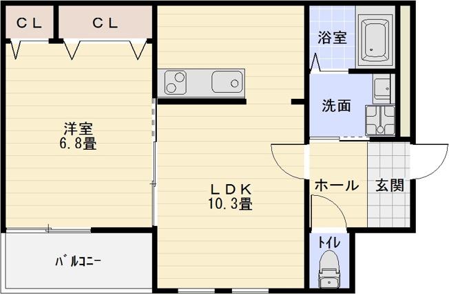 八尾市 1LDK 志紀駅