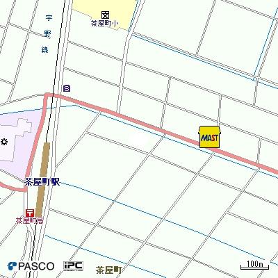 【地図】メテオールB