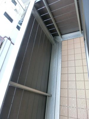 【バルコニー】ジュネスブレジオ鷹取