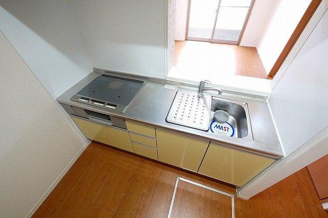 【キッチン】ガーデンズ城山台