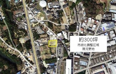 【外観】美原区菅生 300坪貸土地 資材置き場