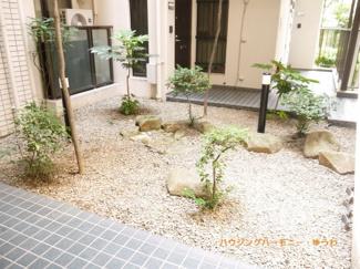 中庭があり、管理体制もしっかりとした物件です。