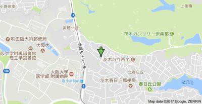 【地図】サンライズ春日丘