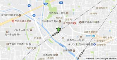 【地図】ハイツすずらん