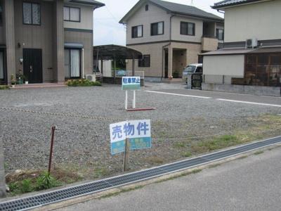 【外観】津山市中島 売土地46坪