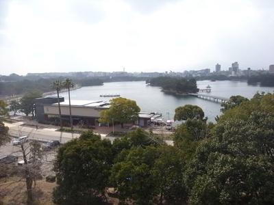 秀和大濠公園レジデンス(1LDK) 素晴らしい眺望