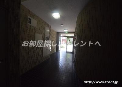 【エントランス】壱岐坂平和マンション