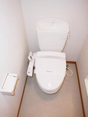 【トイレ】レオパレスナッツベリー