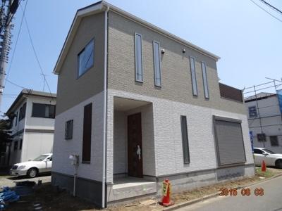 【外観】上尾市大字上 新築分譲住宅全2棟