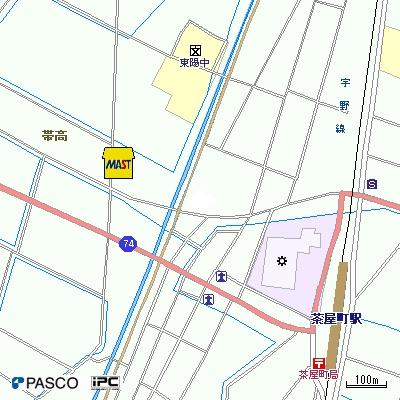 【地図】ユニティA