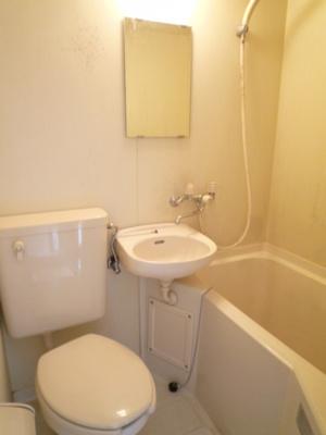 【浴室】ハイツ菊水