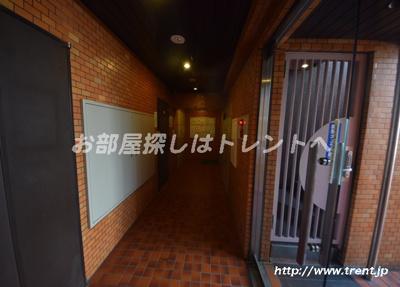 【エントランス】ライオンズマンション矢来町