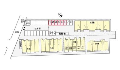 【区画図】ロックガーデン森C