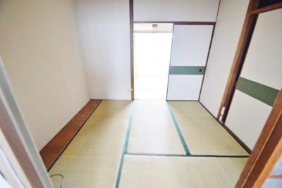【寝室】青山ハイツ