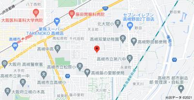 【地図】石田グリーンハイム (株)Roots