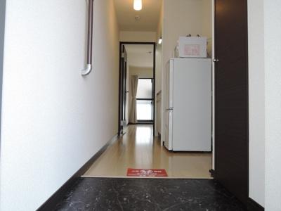 【玄関】レオネクストウッドスクエア