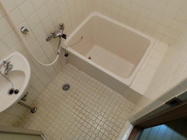 【浴室】堅下ハイツ