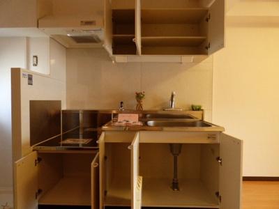【キッチン】山崎第6マンション