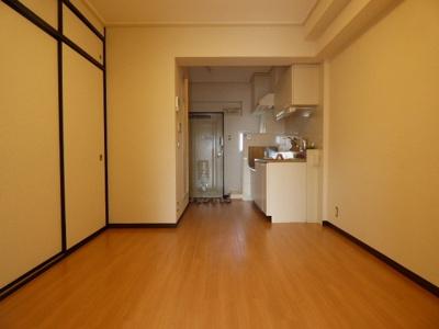 【居間・リビング】山崎第6マンション