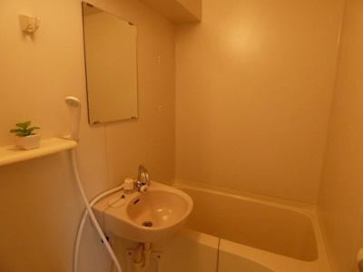【浴室】山崎第6マンション