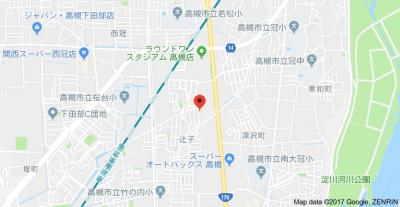 【地図】東峰荘 株式会社Roots