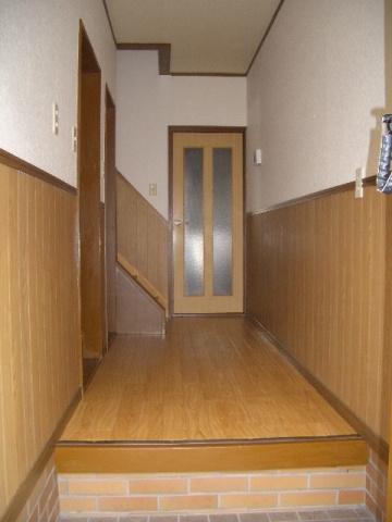 【玄関】古町二戸一テラスハウス