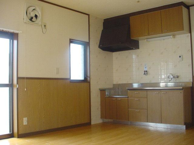 【キッチン】古町二戸一テラスハウス