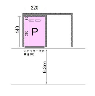 ハイム深澤駐車場