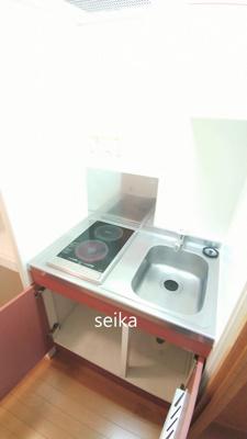 冷蔵庫&電子レンジつきます