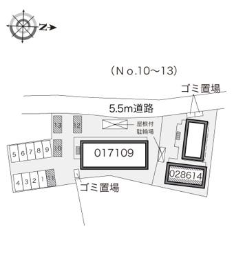 【区画図】ホークヒルズⅡ