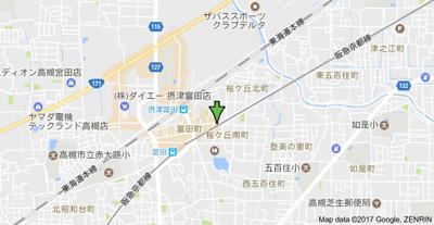 【地図】杉江ビル (株)Roots