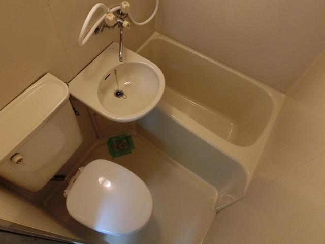 プラザハピネス高安 浴室