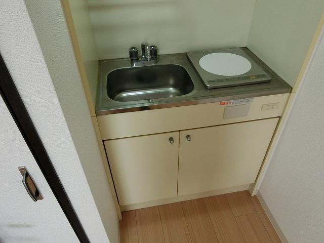 プラザハピネス高安 キッチン