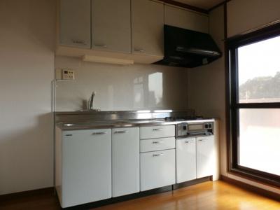 【キッチン】作草部ハウス 1棟