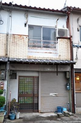 【外観】堺市北区中長尾町 テラスハウス