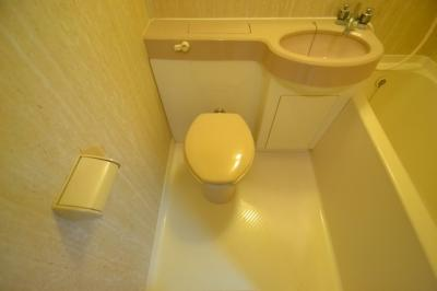 【トイレ】ロマネスク六甲第2